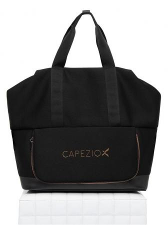 over the shoulder black bag dance backpack by Capezio