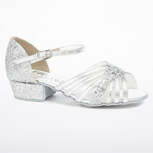 Freed Sparkle Cuban Heel Childrens Ballroom Shoes - Strictly Dancing