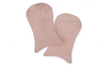 Freed Suede Caps for Pointe Shoes (Pair) - Pink
