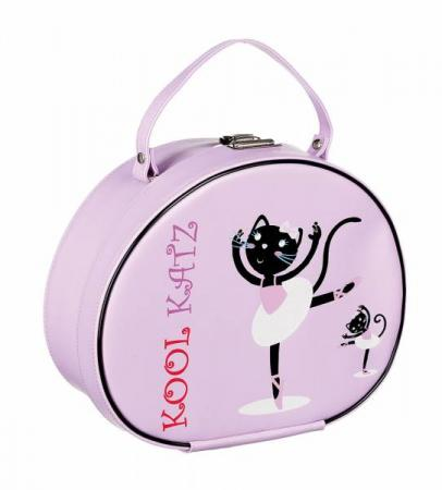 Katz Vanity Case With Ballerina Cat Image - Strictly Dancing