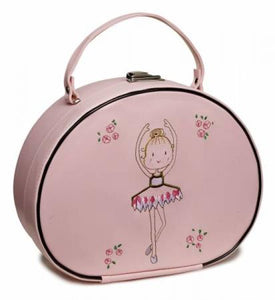 Katz Pink Embroided Ballerina Vanity Case - Strictly Dancing