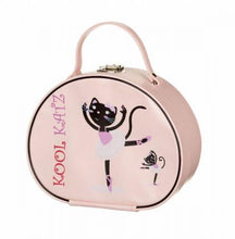 Load image into Gallery viewer, Katz Vanity Case With Ballerina Cat Image - Strictly Dancing