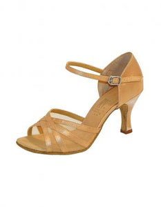Roch Valley Aphrodite Ladies Dance Shoes -Tan - Strictly Dancing