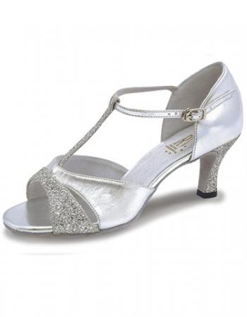 Roch Valley Lucina Ladies Ballroom Shoes - Silver - Strictly Dancing