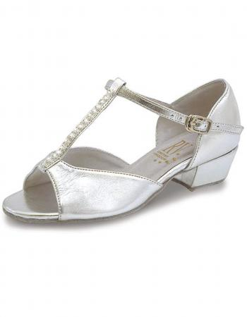 Roch Valley Marika Ballroom Shoes 1.2 inch heel- Silver - Strictly Dancing