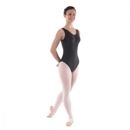 Tappers and Pointers Angela Sleeveless Leotard Ruched Front - Strictly Dancing