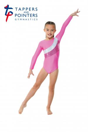Tappers and Pointers Gym 19 Gymnastics Leotard - Lipstick