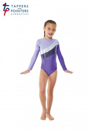 Tappers and Pointers Gym 19 Gymnastics Leotard - Purple