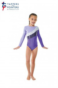 Tappers and Pointers Gym 19 Gymnastics Leotard - Purple - Strictly Dancing
