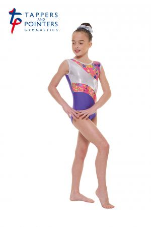Tappers and Pointers Gym 39 Sleeveless Carnival Gymnastics Leotard - Purple - Strictly Dancing