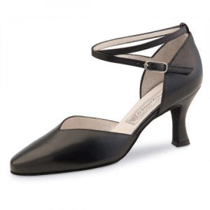 Werner Kern Betty 6.5cm Heel Ladies Dance Shoes - Nappa Black - Strictly Dancing