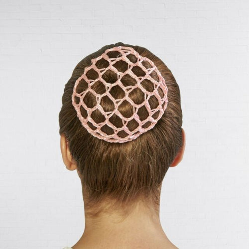 Bloch Bun Cover Hair Net - Pink - Strictly Dancing