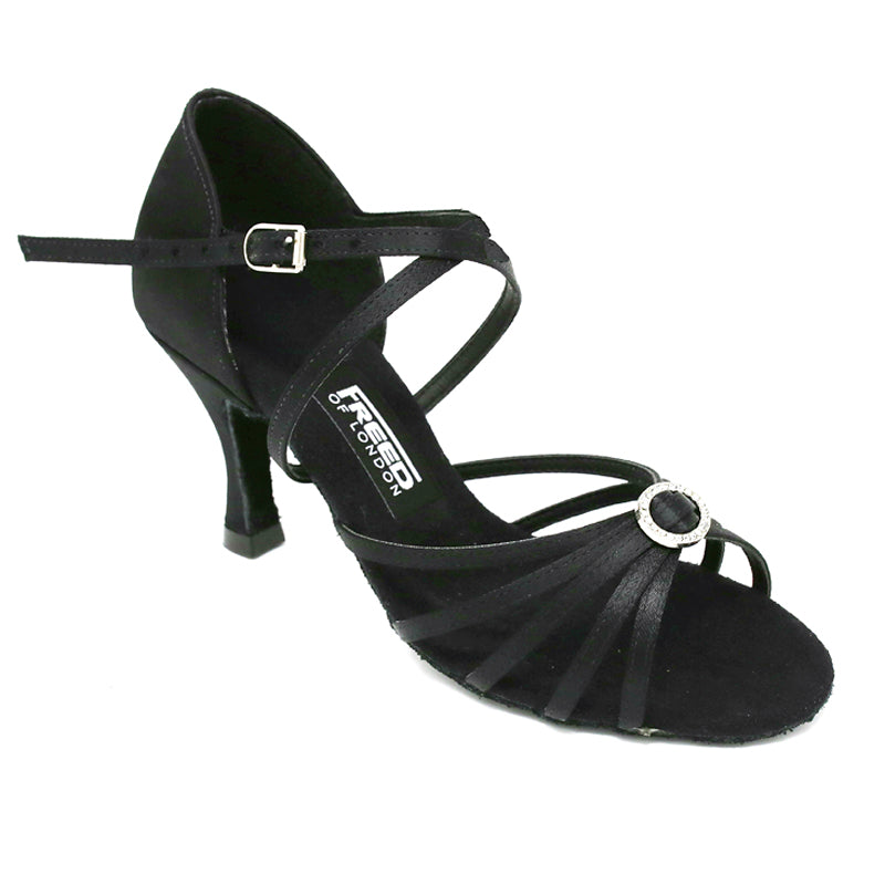 Freed Sophia Women's Dance Shoes - Black - Strictly Dancing