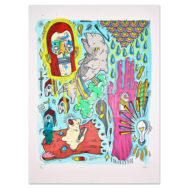 HAYDEN MENZIES - ART PRINT SERIES #15