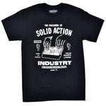 SOLID ACTION MB TEE