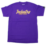 SPORTS SPECIALTIES PURPLE/GOLD TEE
