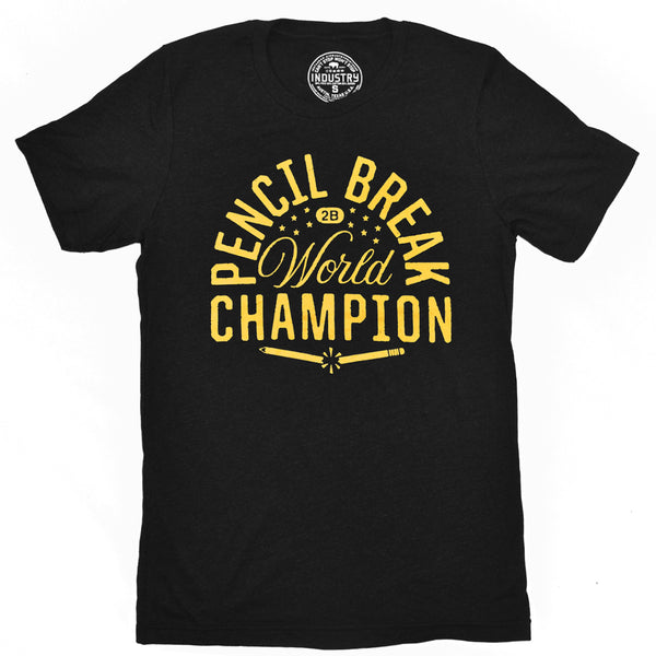 PENCIL BREAK CHAMPION TEE