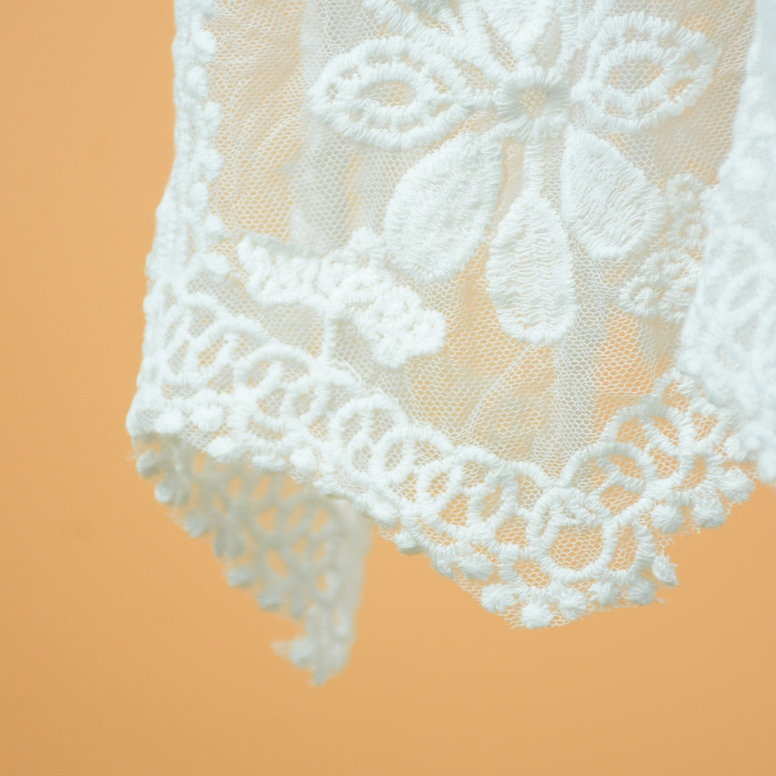 White Lace Cover Up