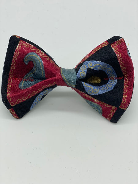 Silk Dog Bow Ties