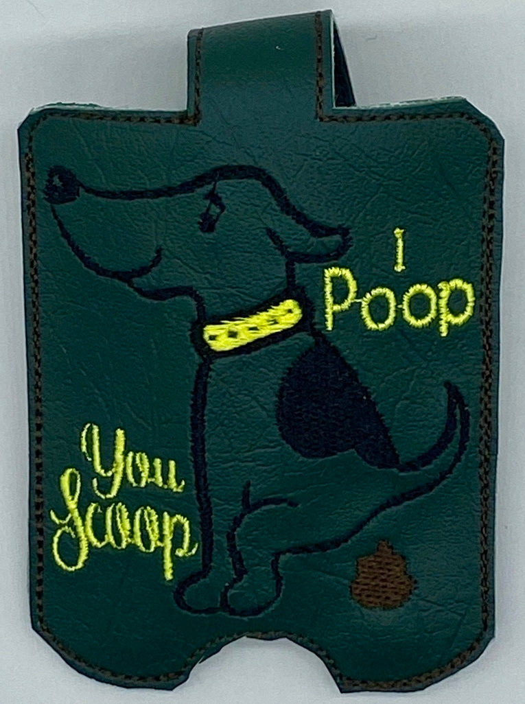 Vinyl Poo Bag Holders