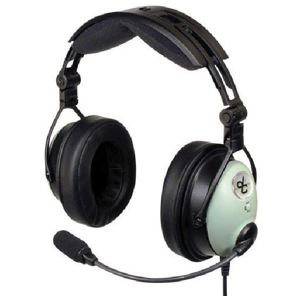 David Clark DC ONE-X ANR Aviation Headset with Bluetooth, Dual GA Plug (Rental)