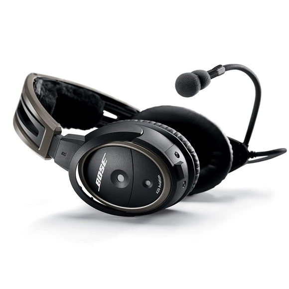 Bose A20 ANR Headset with Bluetooth, Dual GA Plugs