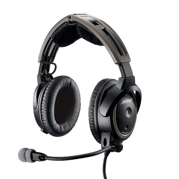 Bose A20 ANR Aviation Headset with Bluetooth, Dual GA Plug (Rental)