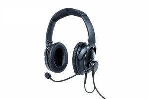 Bose QC35 with NFlightMic ANR Aviation Headset, Dual GA Plug (Weekly Rental Extension)