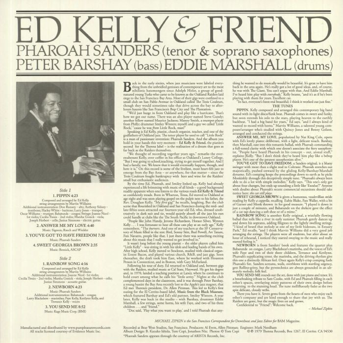 Ed Kelly & Friend (Pharoah Sanders)