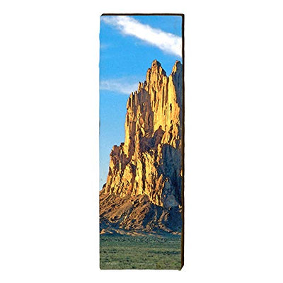 "Monument Valley, Arizona Landscape Home Decor Art Print on Real Wood (9.5""x30"")-Mill Wood Art"