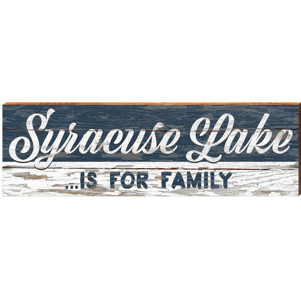 Syracuse Lake For Family Navy ABS1