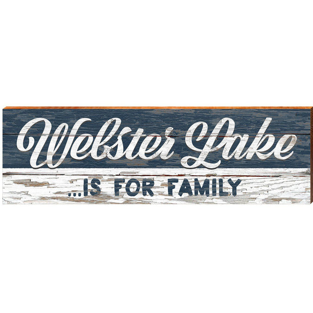 Webster Lake For Family Navy ABS1