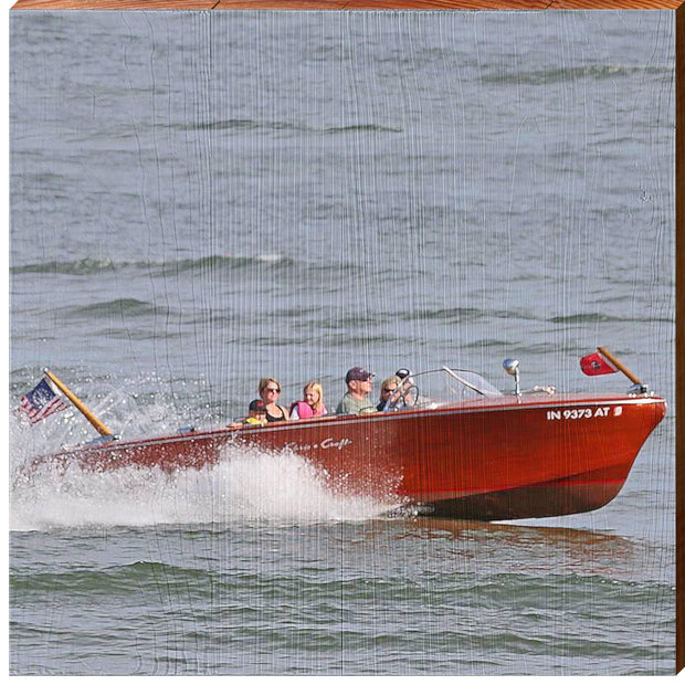 Vintage Speed Boat ABS1