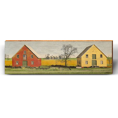 Heart of America Barn Piece-Mill Wood Art