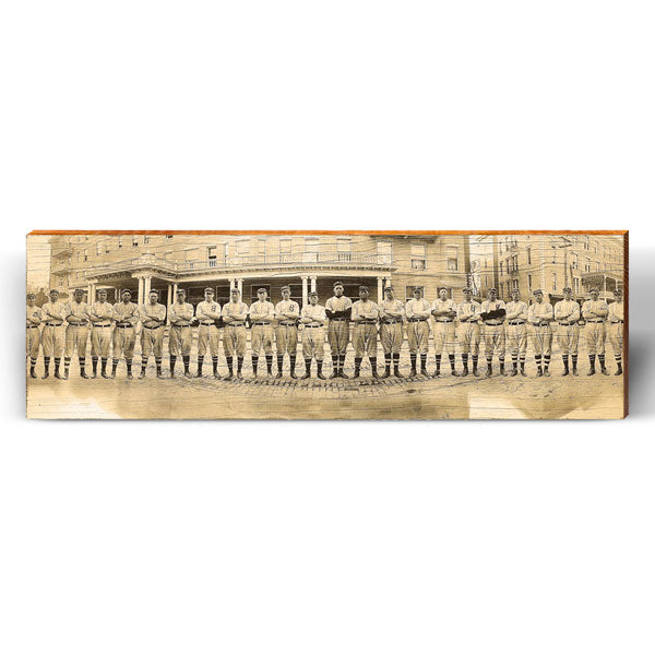 Vintage Baseball Team Photo Piece