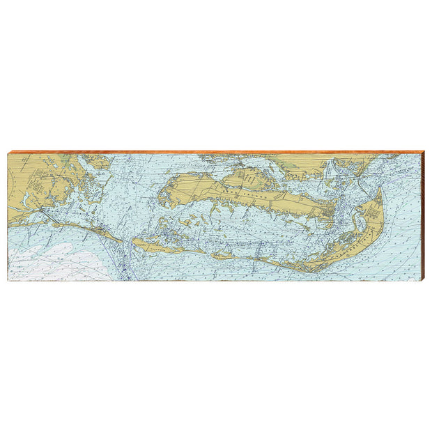 Pine Island, Sanibel Island, Captiva Island, and Cayo Costa, Florida Navigational Chart Wall Art-Mill Wood Art