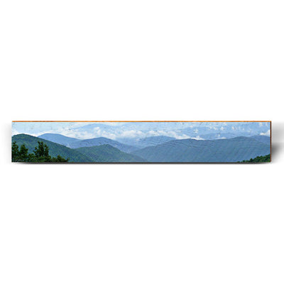 "Blue Ridge Mountains Large Piece | Size: 9.5"" x 60""-Mill Wood Art"