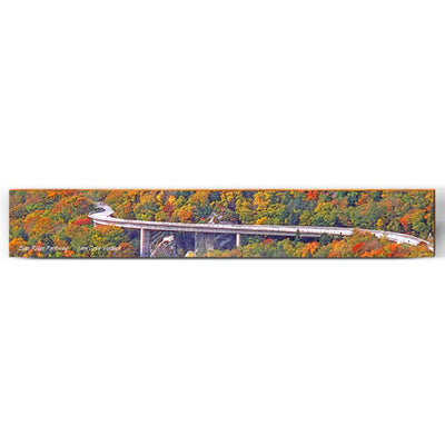 "Blue Ridge Parkway Viaduct Large Piece | Size: 9.5"" x 60""-Mill Wood Art"
