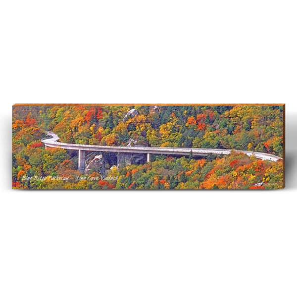 Blue Ridge Parkway Viaduct Piece-Mill Wood Art