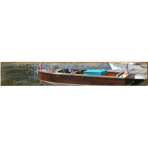 Crystal Lake Vintage Boat CAN2