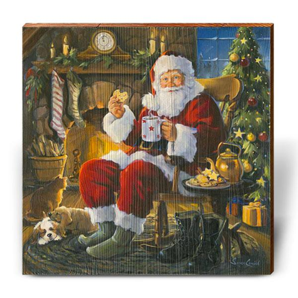 "Susan Comish ""Santa Cookie Break""-Mill Wood Art"