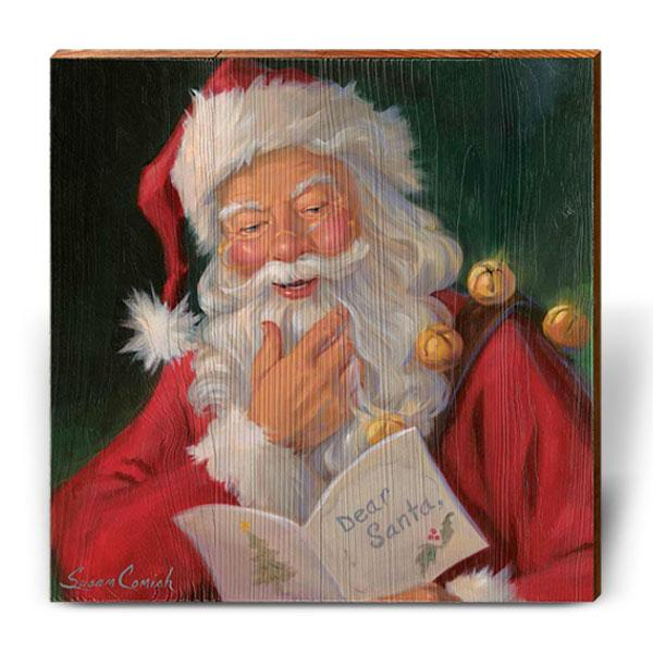 "Susan Comish ""Dear Santa""-Mill Wood Art"