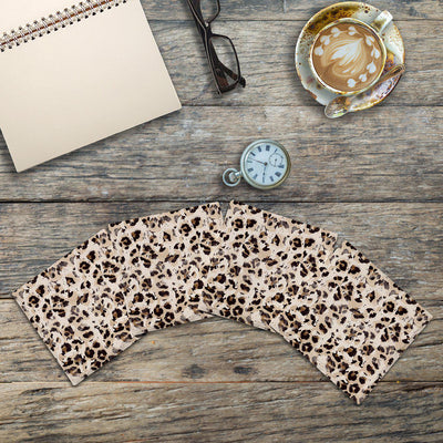 Cheetah Print 2 |Drink Coaster Set