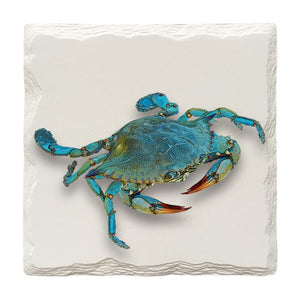 Blue Crab | Drink Coaster Set