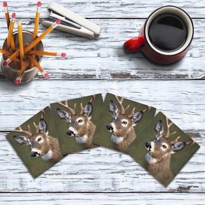Deer |Drink Coaster Set