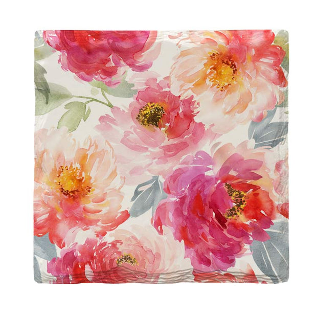 Watercolor Flowers |Drink Coaster Set