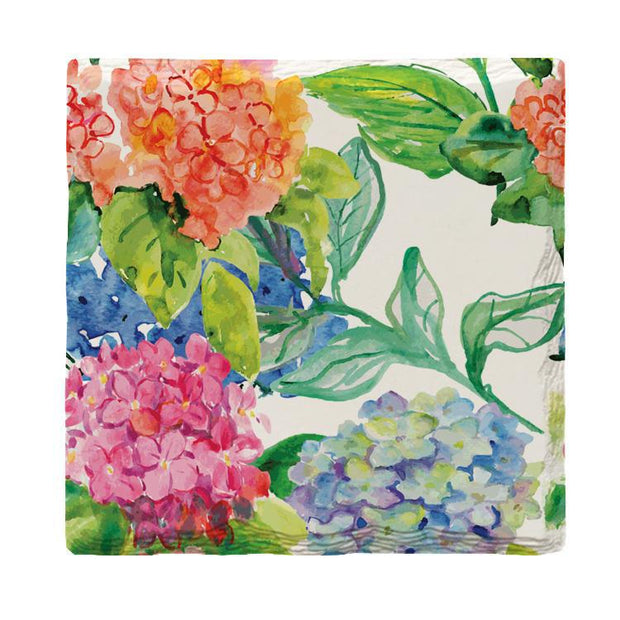 Floral Hydrangea-Mill Wood Art