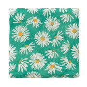 Teal Daisies-Mill Wood Art