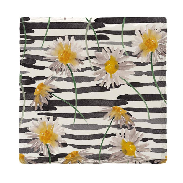 Daisy Pattern |Drink Coaster Set