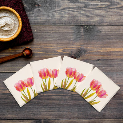A Pair of Tulips-Mill Wood Art